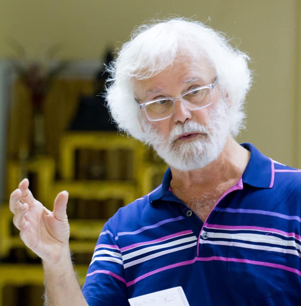 Instructor Speaking